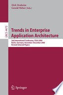 Trends in Enterprise Application Architecture