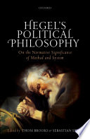 Hegel s Political Philosophy