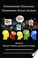 Contemporary Challenges Confronting School Leaders