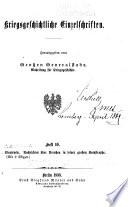 Nachrichten über Preussen in seiner grossen Katastrophe
