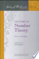 Lectures on Number Theory