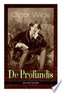 De Profundis  Vollst  ndige deutsche Ausgabe