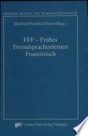 FFF - Frühes Fremdsprachenlernen Französisch