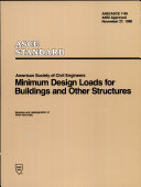 Minimum Design Loads for Buildings and Other Structures  7 88