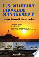 U S  Military Program Management