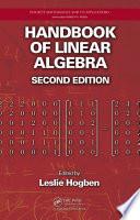 Handbook of Linear Algebra  Second Edition