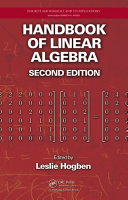 Handbook of Linear Algebra, Second Edition