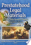 Prestatehood Legal Materials