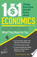 101 Things Everyone Should Know About Economics
