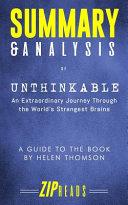 Summary And Analysis Of Unthinkable