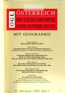 sterreich in Geschichte und Literatur mit Geographie