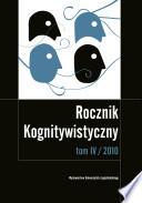 Rocznik Kognitywistyczny tom IV/2010