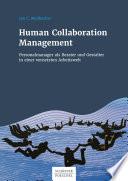 Human Collaboration Management