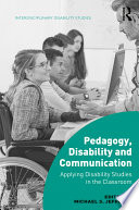 Pedagogy  Disability and Communication