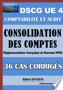 36 cas corrig  s de Consolidation des comptes   Comptes de groupe   DSCG UE 4   Comptabilit   et audit