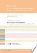 Berufs Und Wirtschaftsp Dagogische Analysen