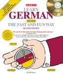 Barron s Learn German the Fast and Fun Way