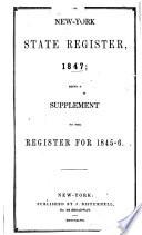 Disturnell s New York State Register for