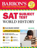 Barron s SAT Subject Test World History  2nd Edition