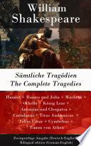 download ebook sämtliche tragödien / the complete tragedies - zweisprachige ausgabe (deutsch-englisch) / bilingual edition (german-english) pdf epub