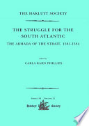 The Struggle for the South Atlantic: The Armada of the Strait, 1581-84