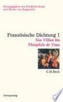 Franz  sische Dichtung