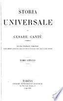Storia universale di Cesare Cant