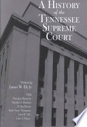 A History of the Tennessee Supreme Court