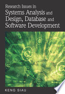 Research Issues in Systems Analysis and Design  Databases and Software Development