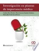 Investigación en plantas de importancia médica