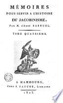 M  moires pour servir    l histoire du jacobinisme