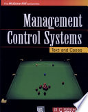 Management Control Systems Text And Cases