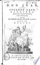 Don Juan Of De Steenen Gast