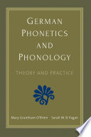 German Phonetics and Phonology