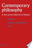 Volume 9  Aesthetics and Philosophy of Art
