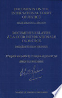 Documents Relatifs À la Cour Internationale de Justice The Request Of Many French Speaking And Other Jurists