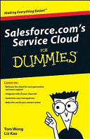 Salesforce com s Service Cloud for Dummies
