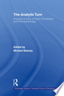 The Analytic Turn
