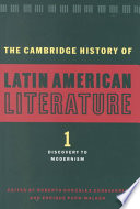 The Cambridge History of Latin American Literature Of All Levels And General