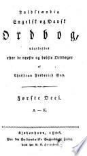 Fuldst  ndig engelsk og dansk ordbog