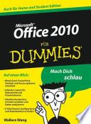 Office 2010 f  r Dummies