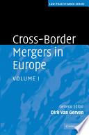 Cross Border Mergers in Europe