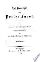 Das Puppenspiel vom Doctor Faust