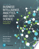 Business Intelligence  Analytics  and Data Science