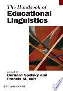 The Handbook of Educational Linguistics