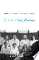 Recognizing wrongs document cover