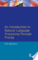 An Introduction to Natural Language Processing Through Prolog