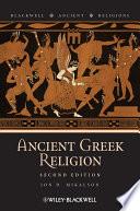 Ancient Greek religion /