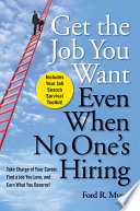 Get The Job You Want  Even When No One s Hiring