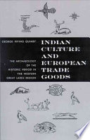 Indian Culture and European Trade Goods